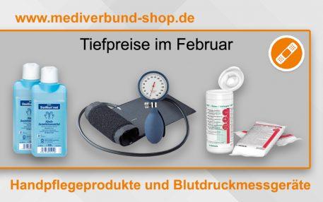 Günstige Handhygieneartikel und Blutdruckmessgeräte