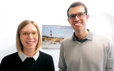 MEDI-MVZ Aalen mit Psychotherapeutin und jungem Hausarzt