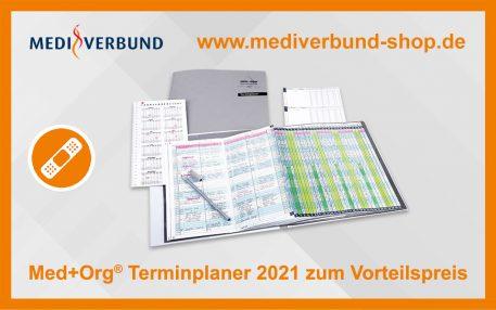 Terminplaner 2021 zum Vorteilspreis
