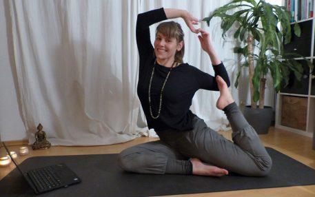 MEDI macht's möglich: Yoga in der Pause